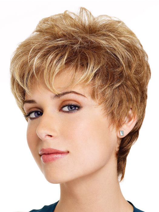 Short Frosted Hair Styles Fashion Hair Style